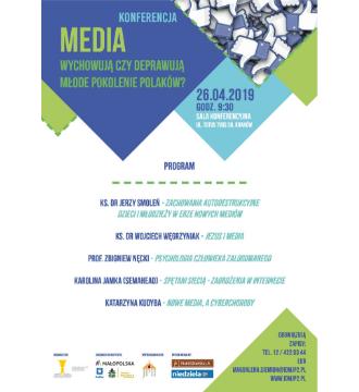 """Konferencja """"MEDIA – wychowują czy deprawują młode pokolenie Polaków?"""""""