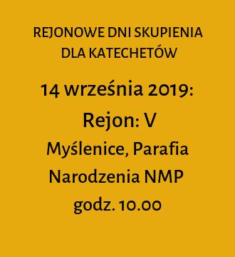 Rejon V – jesienne dni skupienia 2019